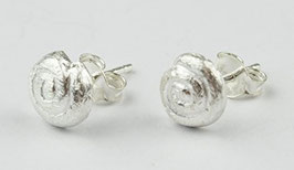 Ohrstecker - 925 Sterlingsilber Muschelform klein, 743S