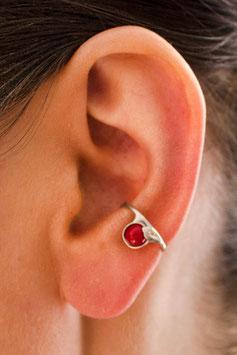 Kleiner Ohrring mit Baumkoralle, 113S