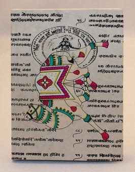 Tagebuch / Notizbuch, indische Motive , 0048-0053