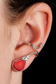 Ohrring mit Baumkoralle 815S