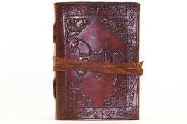 Notizbuch, Tagebuch, Adressbuch, Leder, Pferd, verschiedene Größen, 0073b/c