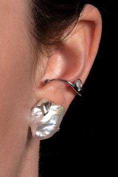 Ohrring ohne Ohrloch Silber 935 Keshiperle 803S