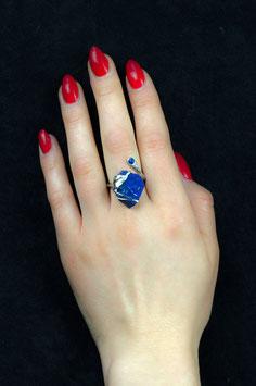 Fingerring - Lapis Lazuli (Rohstein), 517S