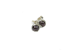 Ohrstecker mit dunkler Perle, 737S