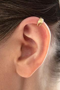 Kleiner Ohrring vergoldet, 102G