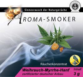 Weihrauch-Myrrhe-Hanf 3 g