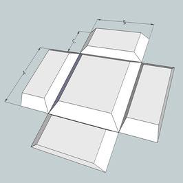 Einbaukasten/Regal Flächenbündig