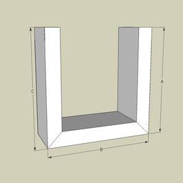 U-Profil / Länge 95 cm