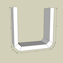 U-Schale / Länge 95 cm