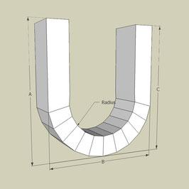 U-Bogen / Länge 95 cm