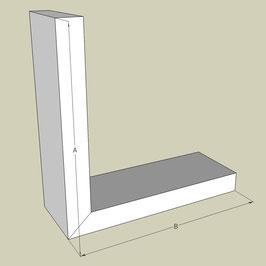 L-Profil / Länge 95 cm
