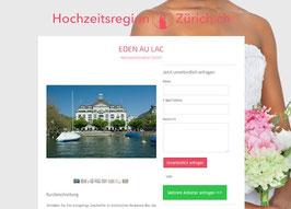 Anbieter-Präsenz auf Hochzeitsregion-Zürich.ch