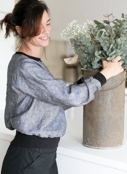 High cuff Sweater  Pattern - The Assembly Line Multisize XS-L