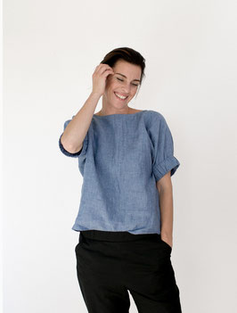 Cuff Top  Pattern - The Assembly Line Multisize XS-L