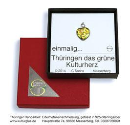 """Schmuck """"Grünes Kulturherz"""""""