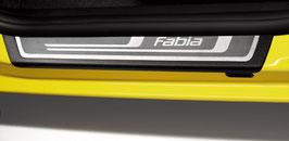 Einstiegsleisten-Set mit Dekoreinlagen und Schriftzug Fabia II