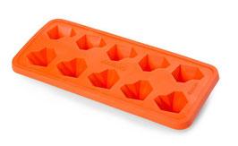 Eiswürfelbehälter KAROQ, Orange
