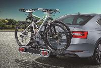 Fahrradträger Anhängerkupplung für 2 Fahrräder