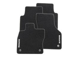 Textilfußmatten-Set Premium mit grauer Umrandung Superb III