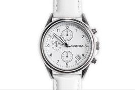 Damen Chronograph, Weiß