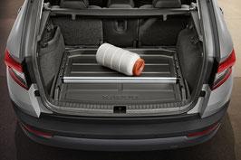 Kofferraumwanne mit erhöhtem Rand  Karoq
