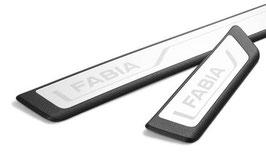 Einstiegsleisten-Set aus Kunststoff mit Edelstahleinlage Fabia III