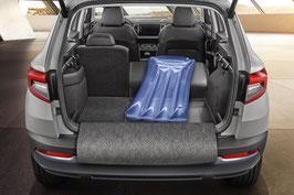 Kofferraumwendematte Gummi/Textil ausfaltbar mit VarioFlex Sitzen Karoq