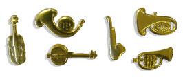 Musikinstrumente klein 38er Set