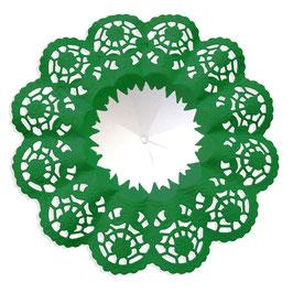 Biedermeiermanschetten dunkelgrün
