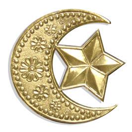 Halbmond mit Stern
