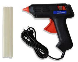 Heißklebepistole 40 W + 3 Klebesticks