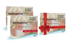 120 Stk. Bambuspflaster - Detox + 10 Stk. kostenlos zum Verschenken