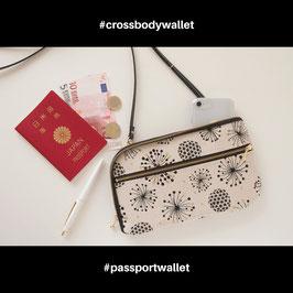 お財布ショルダーバッグ【ラージサイズ】たんぽぽの綿毛