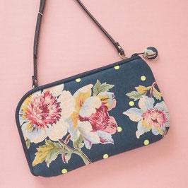 お財布ショルダーバッグ【イベント用】大きめ花柄