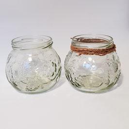 Kerzenhalter Marmeladenglas