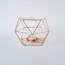 geometrische Kerzenhalter