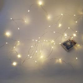 Lichterkette Draht