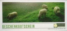 Geschenkgutschein --  Schafzeit für Dich --