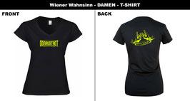 T-Shirt: Hometown leuchtgelb  (D)