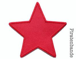 Stern Canvas rot Aufnäher