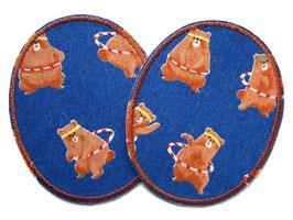 2 Knieflicken Hula Hoop Bären