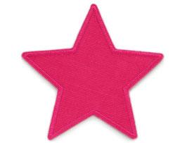 Stern Cord pink Aufnäher