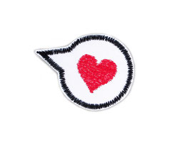 Patch Liebe Herz
