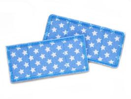 2 Trostpflaster Sternchen hellblau