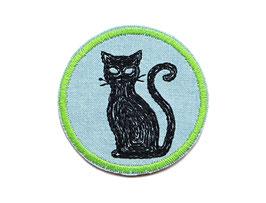 Jeanspatch Katze