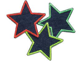 Stern Jeans 3er Set Neon