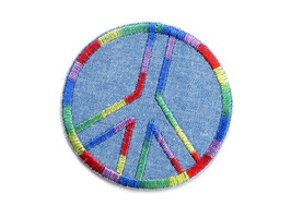 Jeansflicken Peace