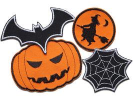 Halloween Patches im Set