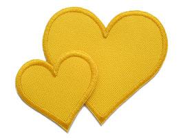Regenhosen Herz gelb