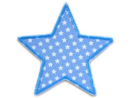 Stern Sternchen hellblau Aufnäher